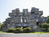 Habitat 67, Montreal, Quebec, Canada, North America Photographic Print by Angelo Cavalli