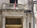 The New York Stock Exchange, Wall Street, Manhattan Photographic Print by Amanda Hall