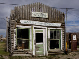 Ruins of Gas Station, Pinedale, Wyoming, United States of America, North America Photographic Print by Balan Madhavan
