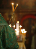 Orthodox Celebration, Paris, Ile De France, France, Europe Photographic Print by  Godong