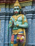 Exterior Statue of the Hindu Monkey God Hanuman, Sri Krishna Bagawan Temple, Singapore Photographic Print by Richard Maschmeyer
