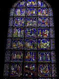 Stained Glass Window, Canterbury Cathedral, Canterbury, Kent Photographic Print by Ethel Davies