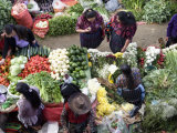 Produce Market, Chichicastenango, Guatemala, Central America Photographic Print by Wendy Connett