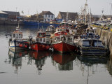 Fishing Boats, Howth Harbour, County Dublin, Republic Ireland, Europe Photographic Print by David Lomax