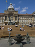 Town Hall, Victoria Square, Birmingham, England, United Kingdom, Europe Photographic Print by Ethel Davies