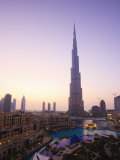 Burj Khalifa, Formerly the Burj Dubai, the Tallest Tower in the World at 818M Photographic Print by Amanda Hall