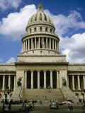 El Capitolio De La Habana, Havana, Cuba, West Indies, Central America Photographic Print by John Harden