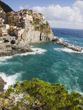 Manarola, Cinque Terre, UNESCO World Heritage Site, Liguria, Italy, Europe Photographic Print by Angelo Cavalli