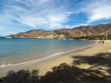 Beach at Taganga, Colombia, South America Photographic Print by Ethel Davies