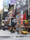 Times Square, Midtown, Manhattan Reproduction photographique par Amanda Hall