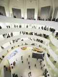Iinterior of Solomon R Guggenheim Museum, 1959, Designed by Frank Lloyd Wright, Manhattan Photographic Print by Christian Kober