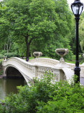 Bow Bridge, Central Park, Manhattan Photographic Print by Amanda Hall