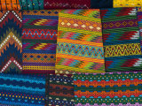 Textiles, Santiago Atitlan, Lake Atitlan, Guatemala, Central America Photographic Print by Sergio Pitamitz