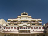 The Royal City Palace, Jaipur, Rajasthan, India, Asia Photographic Print by John Woodworth