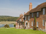 Shipwrights' Cottages at Buckler's Hard, Hampshire, England, United Kingdom, Europe Photographic Print by Hazel Stuart