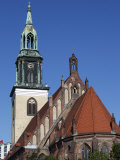 Marienkirche, Alexanderplatz, Berlin, Germany, Europe Photographic Print by Dallas & John Heaton