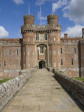 Causeway to Main Entrance of the 15th Century Herstmonceux Castle, East Sussex Photographic Print by James Emmerson