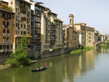 Arno River, Florence, UNESCO World Heritage Site, Tuscany, Italy, Europe Photographic Print by Nico Tondini