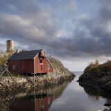 Abandoned Fishery on Stilts, Lofoten Island, Norway, Scandinavia, Europe Photographic Print by Purcell-Holmes