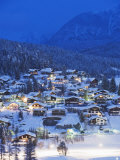 Seefeld Village, the Tyrol, Austria, Europe Photographic Print by Christian Kober