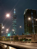 Taipei 101, Taipei, Taiwan, Asia Photographic Print by Charles Bowman