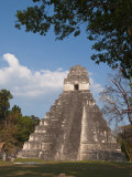 Gran Plaza and Temple I, Mayan Archaeological Site, Tikal, Guatemala Photographic Print by Sergio Pitamitz