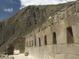 Ancient Doorway to Enter the Top of the Inca Ruins of Ollantaytambo, the Sacred Valley, Peru Photographic Print by Richard Maschmeyer