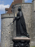 Statue of Queen Victoria, Windsor Castle, Windsor, Berkshire, England, United Kingdom, Europe Photographic Print by Ethel Davies