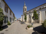 Church at La Couarde Sur Mer, Ile De Re, Charente-Maritime, France, Europe Photographic Print by Peter Richardson