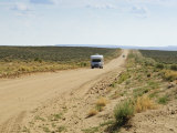 Rv in Chaco Culture National Historical Park Scenery, New Mexico Photographic Print by Michael DeFreitas