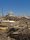 Hurricane Damage, Galveston, Texas, United States of America, North America Photographic Print by Michael DeFreitas