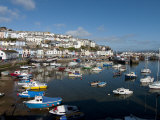 Brixham Harbour, Devon, England, United Kingdom, Europe Photographic Print by Charles Bowman