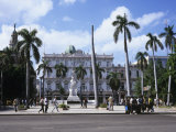 Parque Central and Hotel Inglaterra, Havana, Cuba, West Indies, Central America Photographic Print by John Harden