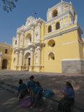 La Merced Church, Antigua, UNESCO World Heritage Site, Guatemala, Central America Photographic Print by Sergio Pitamitz