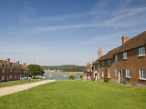 Shipwrights' Cottages at Buckler's Hard, Hampshire, England, United Kingdom, Europe Photographic Print by Hazel Stuart