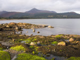 View across Brodick Bay to Goatfell, Brodick, Isle of Arran, North Ayrshire Photographic Print by Ruth Tomlinson