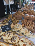Bread Stall at the Italian Market at Walton-On-Thames, Surrey, England, United Kingdom, Europe Photographic Print by Hazel Stuart