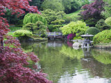 Japanese Garden, Brooklyn Botanical Garden, Brooklyn Photographic Print by Christian Kober
