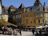 Place De La Liberte in the Old Town, Sarlat, Dordogne, France, Europe Photographic Print by Peter Richardson