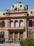 Casa Rosada Where Eva Peron Used to Appear on the This Balcony Photographic Print by Robert Harding