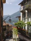 Street in Bellagio, Lake Como, Lombardy, Italy, Europe Photographic Print by James Emmerson