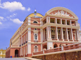 Opera House, Manaus, Amazonas, Brazil, South America Photographic Print by Nico Tondini