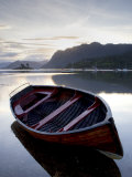 Rowing Boat at Low Tide, Dawn, Plokton, Near Kyle of Lochalsh, Highland Photographic Print by Lee Frost