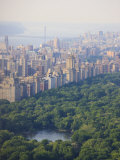 High Angle View of Upper West Side and Central Park, Manhattan Photographic Print by Amanda Hall