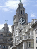 The Liver Building, One of the Three Graces, Riverside Photographic Print by Ethel Davies