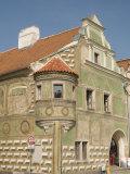 Renaissance Building at Zachariase Z Hradce Square, Telc, Jihlava Region, Czech Republic, Europe Photographic Print by Richard Nebesky
