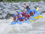 White Water Rafting, Pacuare River, Turrialba, Costa Rica, Central America Photographic Print by Marco Simoni