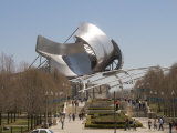 Jay Pritzker Pavilion Designed by Frank Gehry, Millennium Park, Chicago, Illinois Photographic Print by Robert Harding