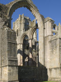 Part of the 12th Century Fountains Abbey, Near Ripon, North Yorkshire Photographic Print by James Emmerson