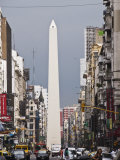 El Obelisco, Buenos Aires, Argentina, South America Photographic Print by Robert Harding
